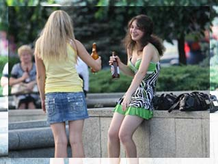 Alcoholism among children and teenagers