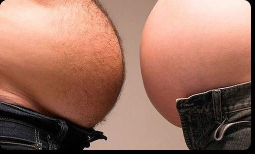 как убрать жир с живота народными средствами